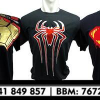 kaos-superhero-glow-in-the-dark-ironman-spiderman-captain-america