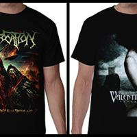 kaos-band-metal-keren-epica-bullet-for-my-valentine-kreator-nile-suffocation-dst