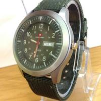 jam-tangan-swiss-army-canvas-green-army--day--date--free-ongkir