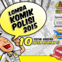 event-lomba-komik-polisi-2015