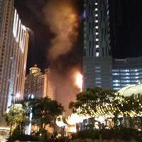 gedung-neo-soho-tanjung-duren-terbakar