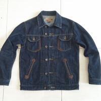 jaket-denim-jeans-jacket-lois-trucker-model-levis-wrangler-uniqlo-aksen-kulit-leather