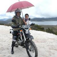 jokowi-naik-motor-trail-di-papua