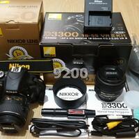 nikon-d3300-vr-ii-kit--18-55mm---lensa-af-s-nikkor-50mm-f-18g-original-fullset
