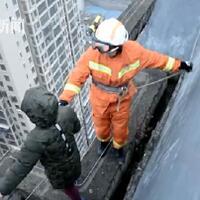 tak-mau-ke-sekolah-anak-di-cina-ancam-lompat-dari-atap-gedung-33-lantai