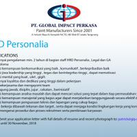 lowongan-hrd-personalia-jatake-tangerang