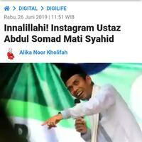 innalillahi-instagram-ustaz-abdul-somad-mati-syahid