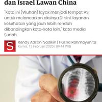klaim-media-arab-virus-corona-hasil-konspirasi-as-dan-israel-lawan-china