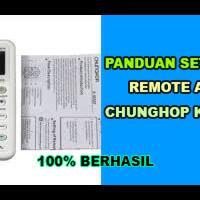 daftar-kode-remote-ac-universal-chunghop-k1082e