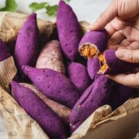 resep-korean-sweet-potato-bread-cemilan-ungu-yang-lagi-hits