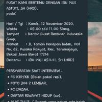 restoran-indonesia-group--panggilan-interview-kerja