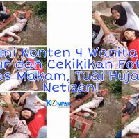 konyol-4cewek-ini-tidur-cekikikan-dan-foto-selfi-di-atas-makam-tuai-hujatan-netizen