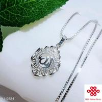 kalung--liontin-rhodium-silver-plated