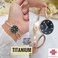 gelang-titanium--jam-rose-gold-plated