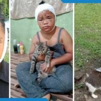 meski-wajah-terluka-akibat-dicakar-anak-ini-meminta-ayahnya-tidak-memukul-kucing