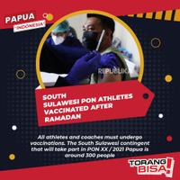 south-sulawesi-pon-athletes-are-scheduled-to-be-vaccinated-after-ramadan