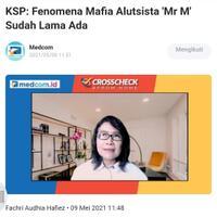 ksp-fenomena-mafia-alutsista--mr-m--sudah-lama-ada
