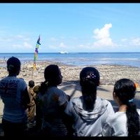 perayaan-71-tahun-kemerdekaan-ri-di-pantai-kampung-belengang-sangih