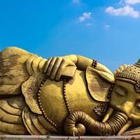 ikon-patung-ganesha-tidur-di-desa-banjerejo-grobogan