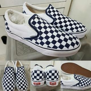 Sepatu Kets Skate Vans Slip On Checkerboard Canvas Premium ICC China 38c7b83edb