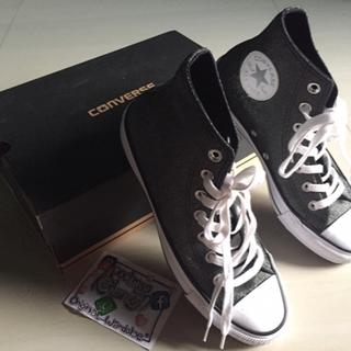 Sepatu Converse Hi Black White Bright Glosy Original Murah Cikarang 84a84d6026