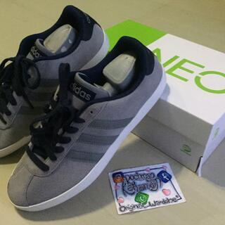 Sepatu Adidas Neo VL Court Grey Abu abu Original Murah Cikarang fd8e501e68