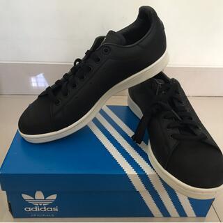 Sepatu Adidas Stan Smith Premium (Black) 708bbf9d1a