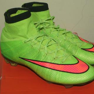 147728eab netherlands official nike cr7 mercurial superfly iv se electric green fg  size 425 dipake al c748e
