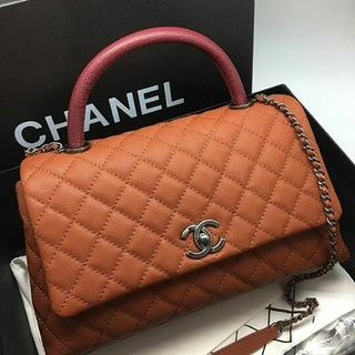 JUAL TAS CHANEL KELLY CAVIAR ORANGE MIRROR QUALITY  b23c0ed7c2