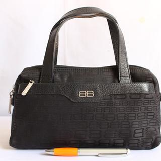 Tas branded BALENCIAGA BC65 Black BB Signature second original asli f98eadd4a2