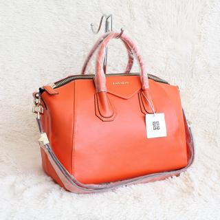 Tas kulit Givenchy antigona orange 4db0ba33ed