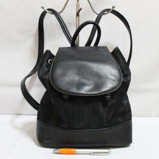 Tas branded PIERRE CARDIN Ransel backpack black second bekas original asli a4a037ce73