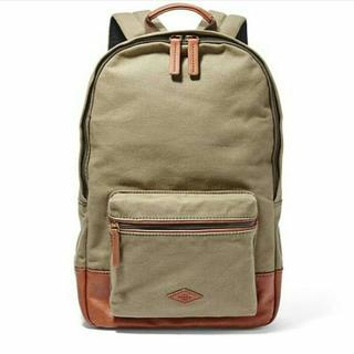TAS FOSSIL ESTATE BACKPACK OLIVE ORIGINAL ASLI dfbae712ed