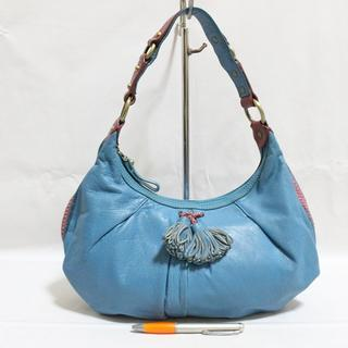 Tas branded SABRINA SCALA Blue hobo second bekas original asli 1c8b766685