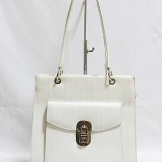 Tas branded SALVATORE FERRAGAMO SF77 White shoulder bag second bekas ori  asli 339b2f7b57