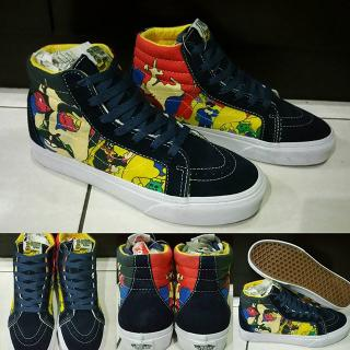 Sepatu Kets Skate Vans SK8High The Beatles Yellow Submarine ICC Premium  China 2bd4d6c411