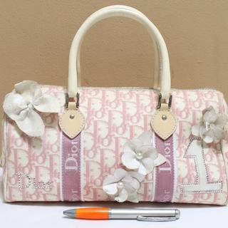Tas branded CHRISTIAN DIOR CD50 Flower speedy canvas second bekas ori asli 5ef06a8af1