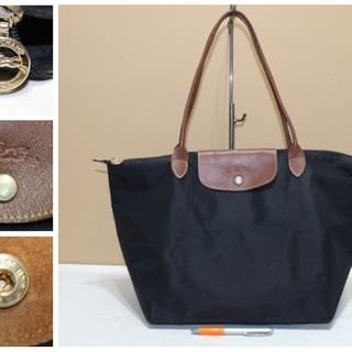 Tas branded LONGCHAMP LC249 TYPE L LH Black second bekas original asli e4d7f65031