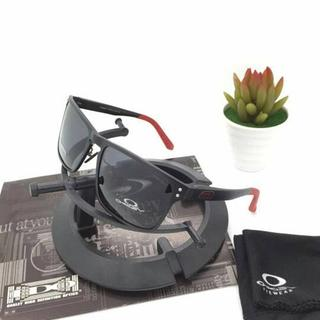 5c2000b31d2 Kacamata Oakley Holbrook Alloy Black lis Red Kacamata Polarized