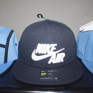 409b6a96730 Nike Air True Black 805063-010 Snapback Hat Baseball Cap Original Topi  Sepatu