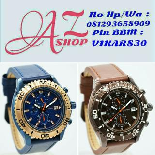 Jam Tangan Pria Christ Verra 80019G Blue Leather Kulit Original Murah c3ac26b719