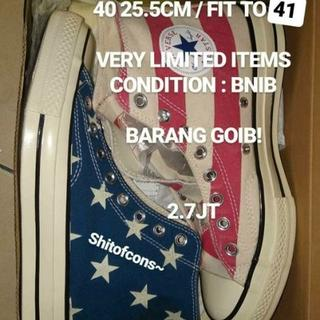 Converse 1970s x Blue Vintage Flag Legion Hi (1300 Pairs in world) 77232cbeb5