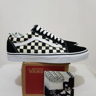 Vans Old Skool Primary Checkerboard Original not slip on sk8hi era f861cc2785