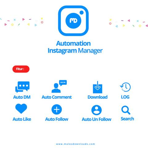 Instagram Manager Online - Follow - Comment - Like