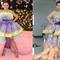 aksi-kocak-seorang-wanita-yang-meniru-gaya-glamor-artis-menggunakan-bahan-low-budget