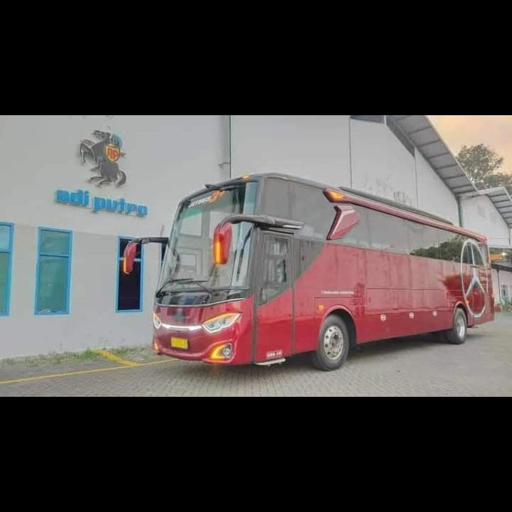 Adiputro Perkenalkan Bodi Jetbus 3+ Single Glass, Punya 3 Wiper dan Kaca Super Lebar