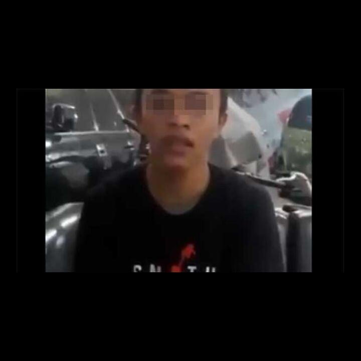 Remaja Diduga Provokator Demo Jokowi End Game Minta Maaf, Ngomongnya Lemes