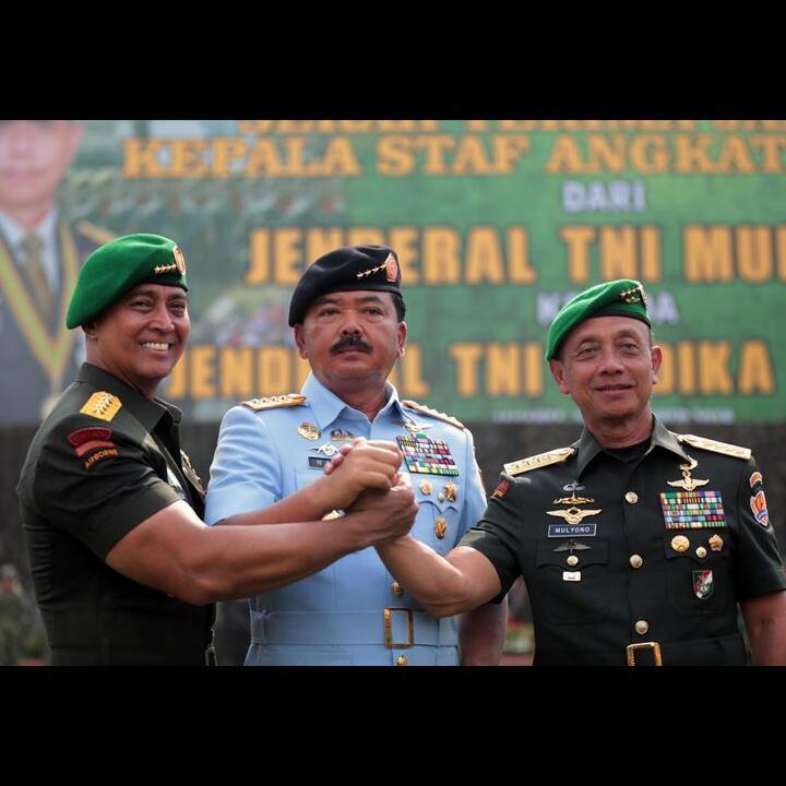 Apa Arti Kotak Warna Warni di Dada Seragam TNI?