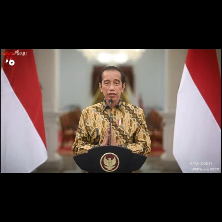 Resmi! Jokowi Perpanjang PPKM Level 4 Hingga 2 Agustus 2021
