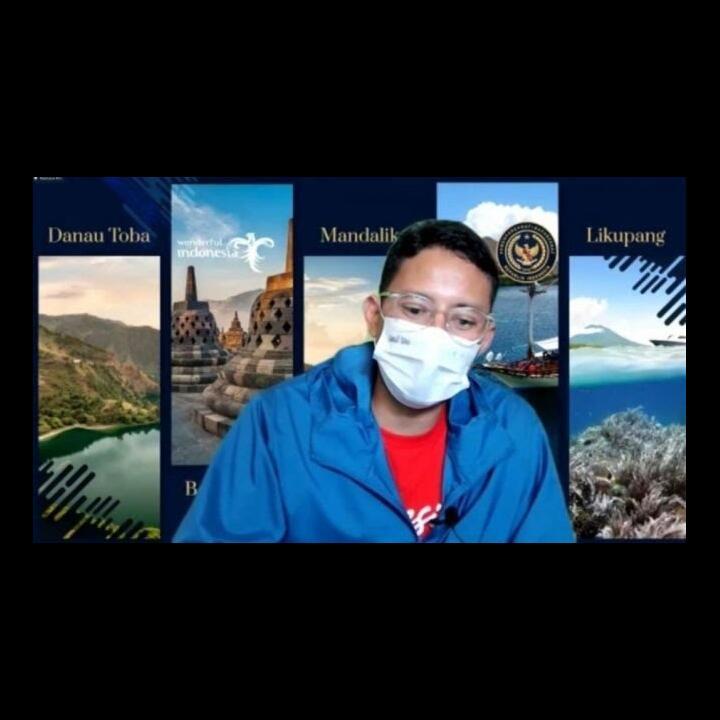 Menparekraf Minta Penghafal Quran Doakan Indonesia Terbebas Pandemi Covid-19